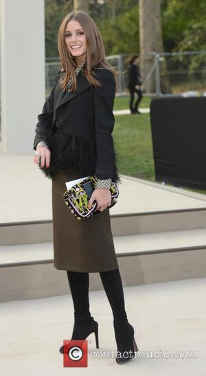 Olivia Palermo - London Fashion Week - Autumn/Winter 2013 - Burberry Prorsum - Arrivals at London Fashion Week - London,...