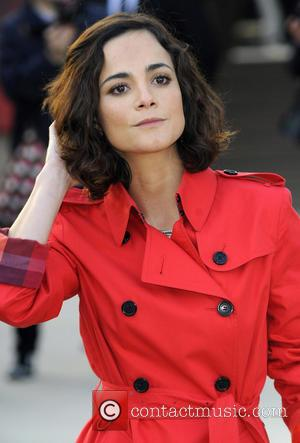 Alice Braga - London Fashion Week - Autumn/Winter 2013 - Burberry Prorsum - Arrivals at London Fashion Week - London,...