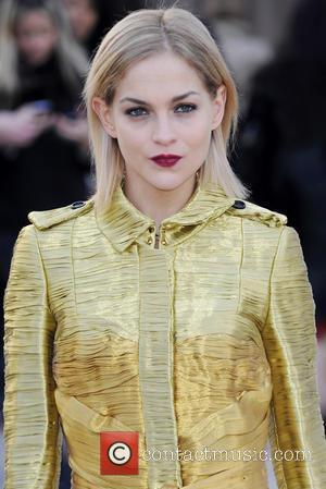 Leigh Lezark - London Fashion Week - Autumn/Winter 2013 - Burberry Prorsum - Arrivals at London Fashion Week - London,...