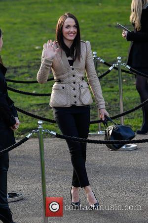 Victoria Pendleton - London Fashion Week - Autumn/Winter 2013 - Burberry Prorsum - Outside Arrivals at London Fashion Week -...