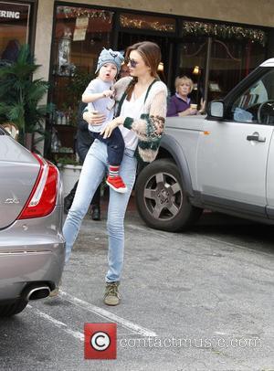 Miranda Kerr and Flynn Bloom