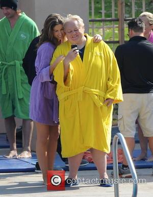 Katherine Webb, 'Miss Alabama USA 2012' and Louie Anderson - Celebrities practice their dives for the upcoming ABC show 'Splash'...