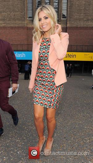 Mollie King - London Fashion Week - Autumn/Winter 2013 - Fashion East - Outside Arrivals at London Fashion Week -...