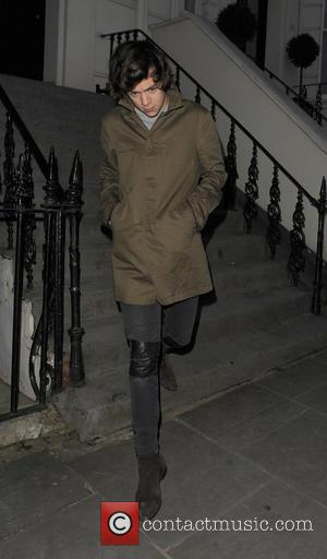 Harry Styles - Celebrities leave a house party in Notting...