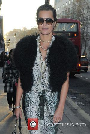 Yasmin Le Bon - London Fashion Week - Autumn/Winter 2013 - Aminaka Wilmont - Outside Arrivals at London Fashion Week...
