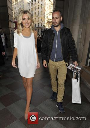 Mollie King and Frank Strachan