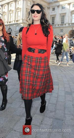 Kate Nash - London Fashion Week - Autumn/Winter 2013 - Ashish - Outside Arrivals at London Fashion Week - London,...