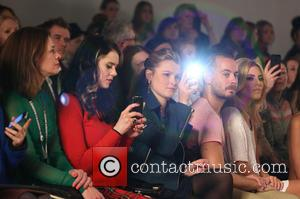 Kate Nash, Amber Atherton and Mollie King - Ashish - Front Row at London Fashion Week - London, United Kingdom...