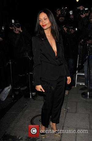 Thandie Newton - London Fashion Week - Autumn/Winter 2013 -Harper's Bazaar - Closing Party held at Mark's Club - Arrivals...