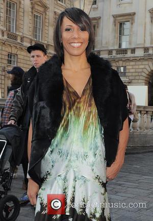 Dame Kelly Holmes - London Fashion Week - Autumn/Winter 2013 - Maria Grachvogel - Outside Arrivals at London Fashion Week...