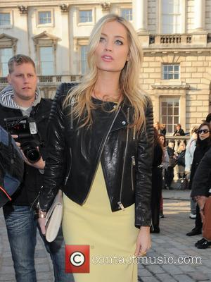 Laura Whitmore - London Fashion Week - Autumn/Winter 2013 - Maria Grachvogel - Outside Arrivals at London Fashion Week -...