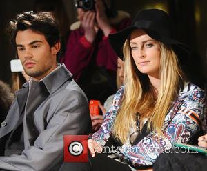 Mark Francis Vanderdelli and Francesca Newman-Young - London Fashion Week - Autumn/Winter 2013 - Ming Pin Tien - Front Row...