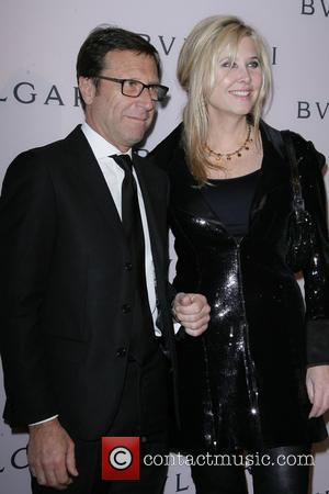 Alberto Festa and Irena Medavoy - BVLGARI celebration of Elizabeth Taylor's collection of BVLGARI jewelry at BVLGARI Rodeo Drive Store...