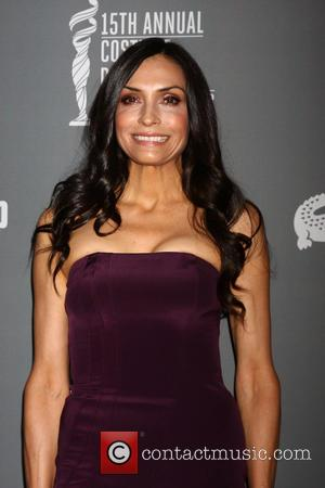Famke Janssen - 15th Annual Costume Designers Guild Awards at Beverly HIlton Hotel - Beverly Hills, CA, United States -...