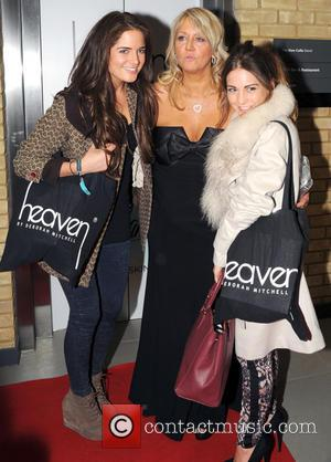 Alexandra Felstead, Deborah Mitchell and Louise Thompson - Heaven Health & Beauty Launch Party at WV1 Bar & Grill, Molineux...