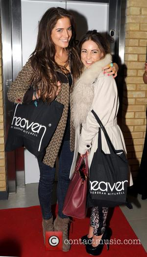 Alexandra Felstead and Louise Thompson - Heaven Health & Beauty Launch Party at WV1 Bar & Grill, Molineux Stadium,...