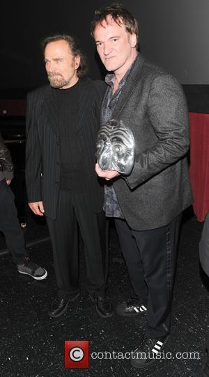 Franco Nero and Quentin Tarantino