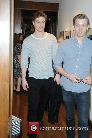 Max Irons and Jake Abel - 'The Host' book launch at Books and Books in Coral Gables at Books and...