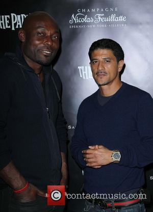 Jimmy Jean Louis and Said Taghmaoui