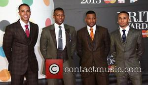 Aston Merrygold, Oritse Williams, J.B. Gill, Marvin Humes and JLS