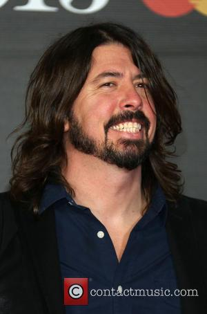 Dave Grohl - The 2013 Brit Awards at Brit Awards - London, United Kingdom - Wednesday 20th February 2013