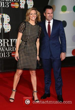 Gabby Logan and husband Kenny Logan - The 2013 Brit Awards at Brit Awards - London, United Kingdom - Wednesday...