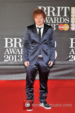 Ed Sheeran Brits 2013
