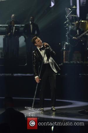 Justin Timberlake - The 2013 Brit Awards (Brits) at O2 Arena, Brit Awards - London, United Kingdom - Wednesday 20th...