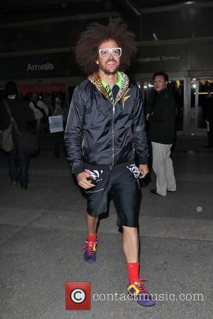 Redfoo - Redfoo arrives at LAX airport - Los Angeles, California, United States - Wednesday 20th February 2013