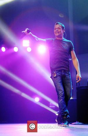 Brad Arnold - BB&T Center performances at BBT - Sunrise, Florida, United States - Wednesday 20th February 2013