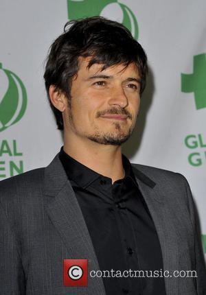 Orlando Bloom - Global Green USA's Pre-Oscar Party