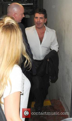 Simon Cowell - Brit Awards After Party At Hakkasan at Brit Awards - London, United Kingdom - Wednesday 20th February...