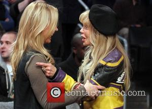 Dyan Cannon and Jeannie Buss