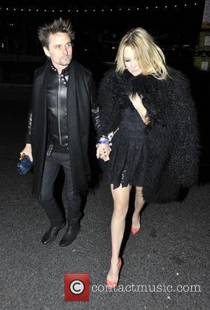Matthew Bellamy and Kate Hudson - The BRIT Awards 2013 - Warner Brothers party at The Brit Awards - London,...