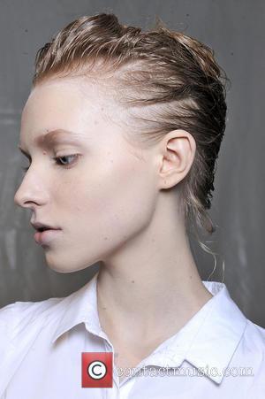 Alberta Ferretti and Model