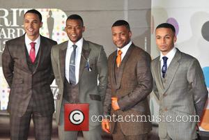 Marvin Humes, Oritse Williams, J.b. Gill and Aston Merrygold