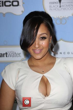 Tamera Mowry Suffers From Separation Anxiety At Work