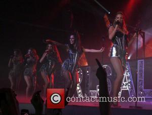Girls Aloud, Kimberley Walsh, Nicola Roberts, Nadine Coyle, Cheryl Cole and Sarah Harding