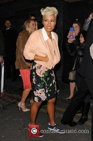 Emeli Sande - Three Six Zero and Roc Nation Brit Awards after party at Hakkasan - Outside at Brit Awards...
