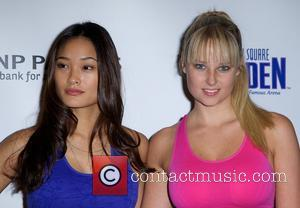 Jarah Mariano and Genevieve Morton