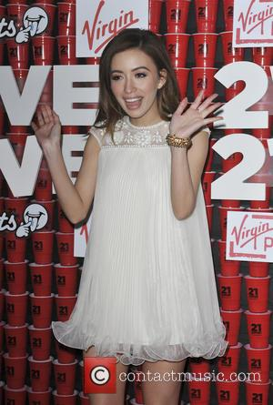 Christian Serratos - Los Angeles Premiere '21 & Over' - Los Angeles, California, United States - Thursday 21st February 2013