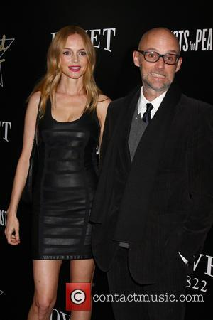 Heather Graham and Moby - The Hollywood Domino pre-Oscar Gala and Tournament at Sunset Tower Hotel - West Hollywood, California,...