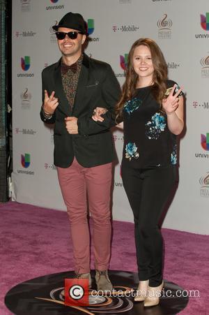 Jesse & Joy - 25th Anniversary Of Univision's 'Premio Lo Nuestro A La Musica Latina' held at the American Airline...
