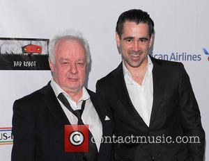 Jim Sheridan and Colin Farrell - US - Ireland Alliance honor Actor Colin Farrell at Bad Robot - Santa Monica,...