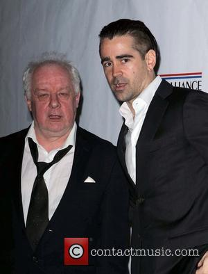 Colin Farrell and Jim Sheridan - US - Ireland Alliance honor Actor Colin Farrell - Beverly Hills, California, United States...
