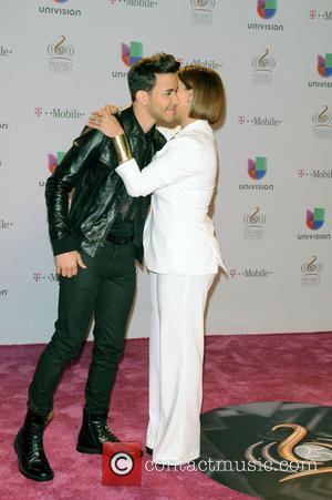 Olga Tanon and Prince Royce