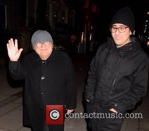 Danny DeVito and Jake DeVito - Danny DeVito and his son Jake DeVito seen leaving Residence - Dublin, Ireland -...