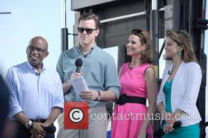 Al Roker, Willie Geist, Savannah Guthrie and Natalie Morales