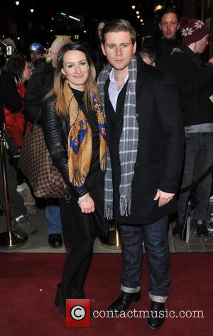 Allen Leech and Guest - Macbeth Opening Night - London, Egnland, United Kingdom - Friday 22nd February 2013