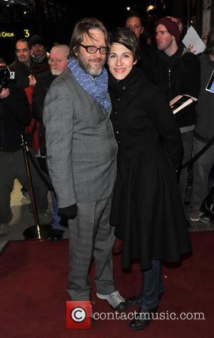 Tamsin Greig and Richard Leaf